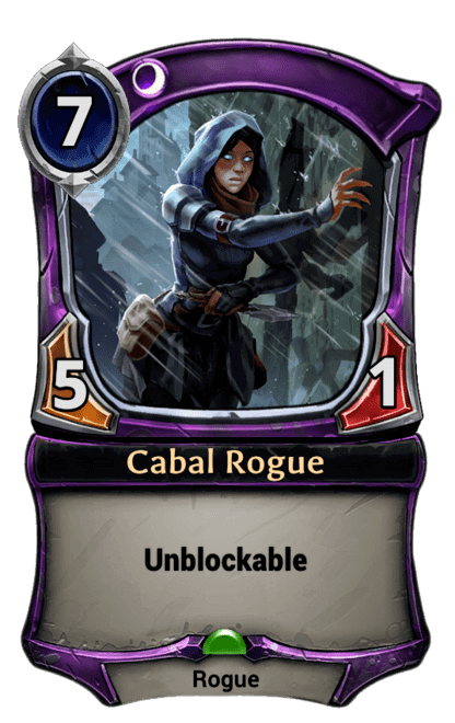 Card image for Cabal Rogue
