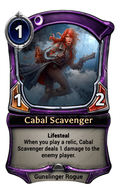Card image for Cabal Scavenger