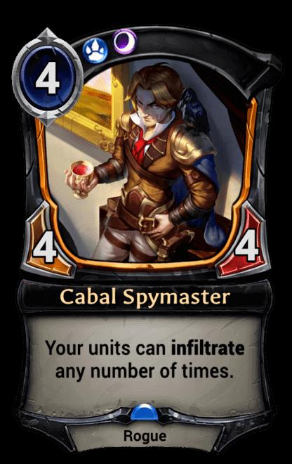 Card image for Cabal Spymaster