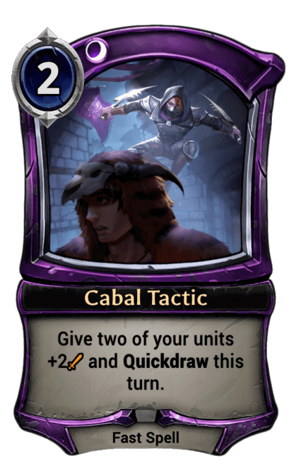 Card image for Cabal Tactic