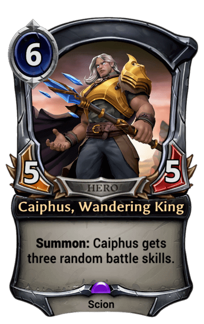 Card image for Caiphus, Wandering King