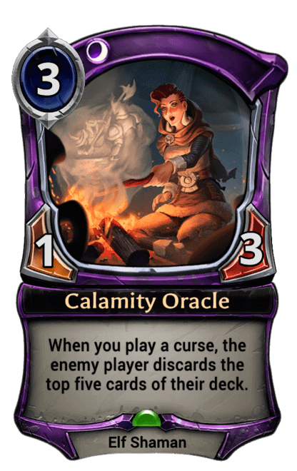 Card image for Calamity Oracle