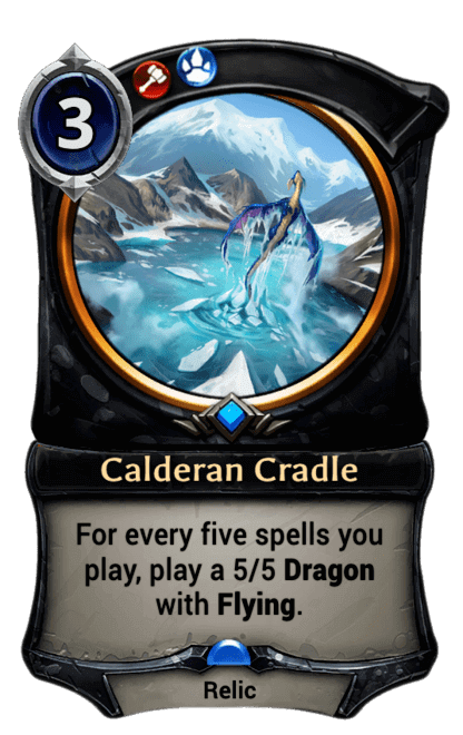 Card image for Calderan Cradle