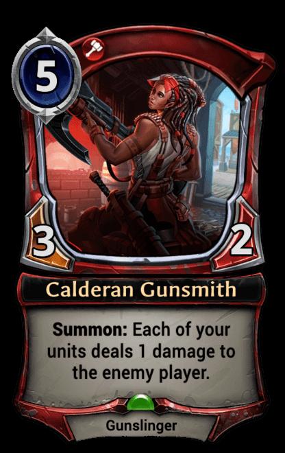 Card image for Calderan Gunsmith