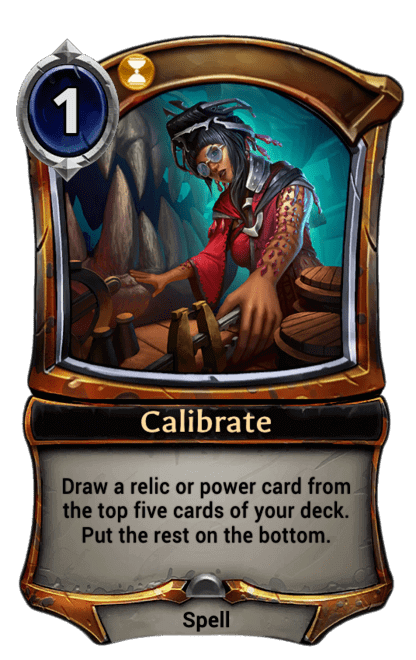 Card image for Calibrate