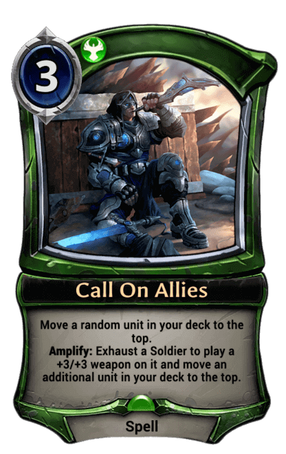 Card image for Call On Allies