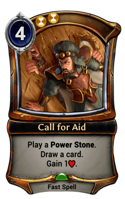 Card image for Call for Aid