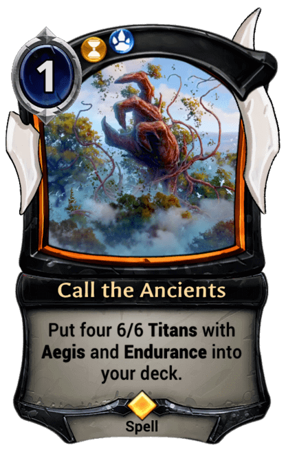 Card image for Call the Ancients