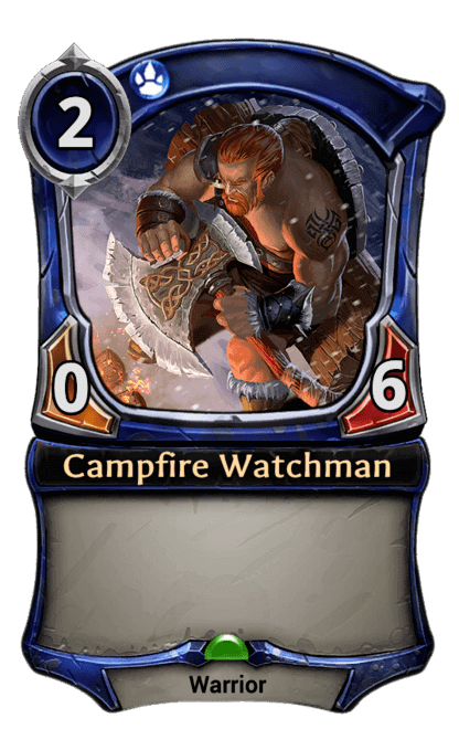 Card image for Campfire Watchman
