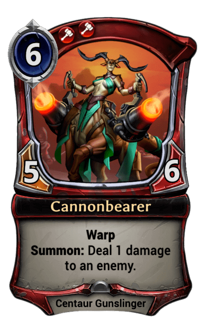 Card image for Cannonbearer