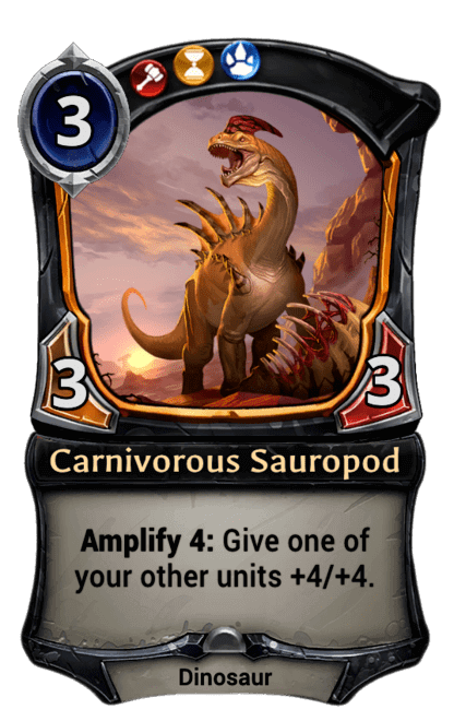 Card image for Carnivorous Sauropod