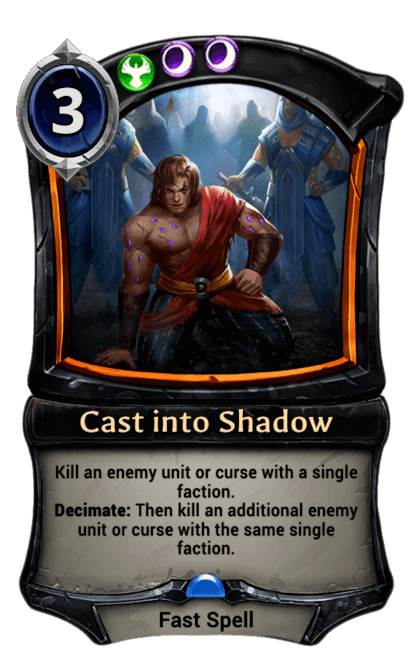 Card image for Cast into Shadow