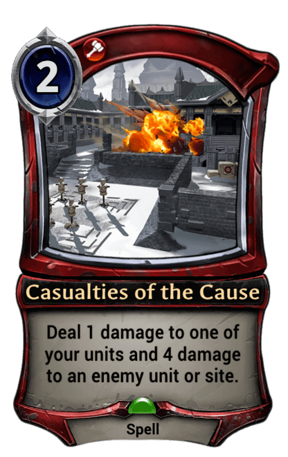 Card image for Casualties of the Cause