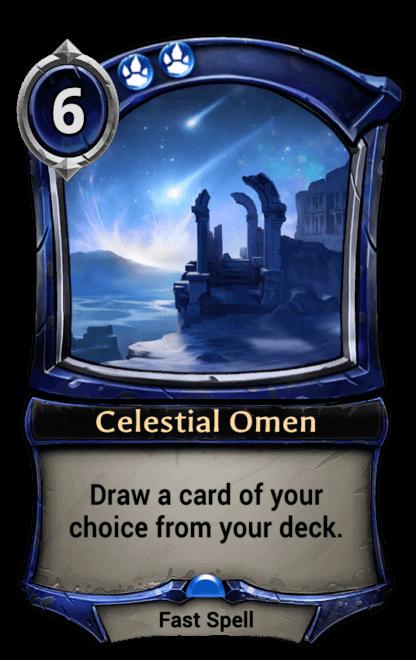 Card image for Celestial Omen