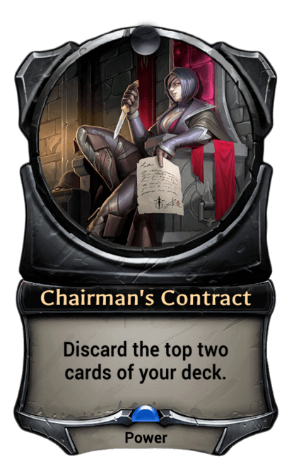Card image for Chairman's Contract