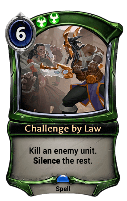 Card image for Challenge by Law