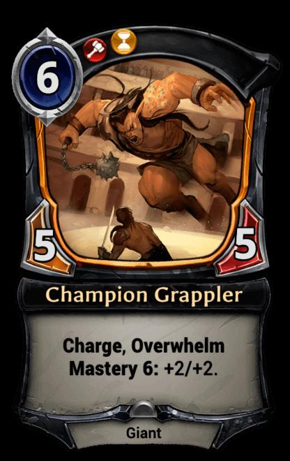 Card image for Champion Grappler