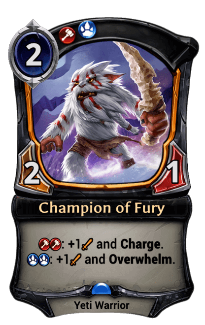Card image for Champion of Fury