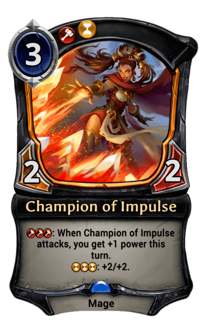 Card image for Champion of Impulse