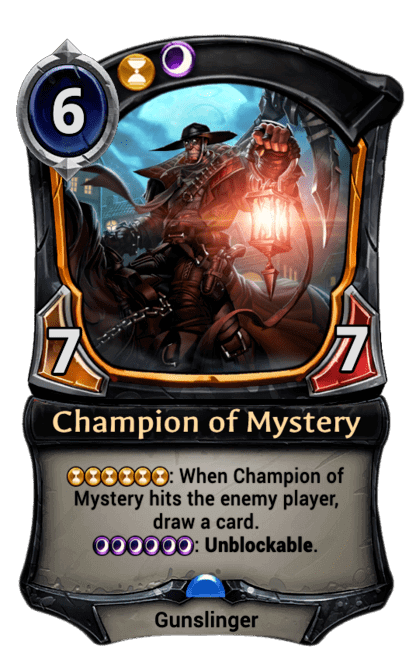 Card image for Champion of Mystery
