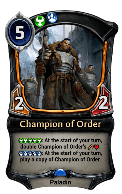 Card image for Champion of Order