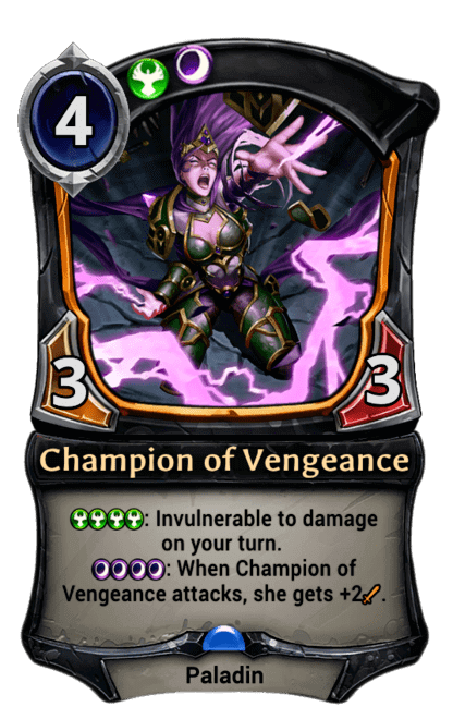 Card image for Champion of Vengeance