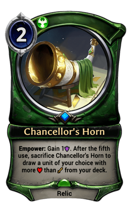 Card image for Chancellor's Horn