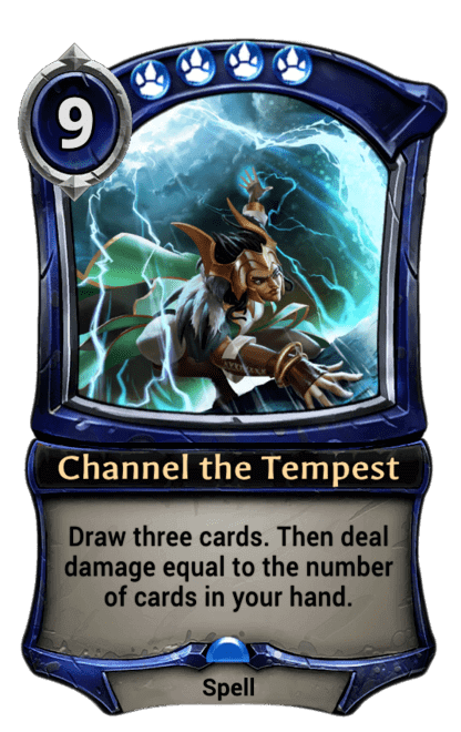 Card image for Channel the Tempest