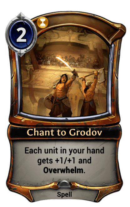 Card image for Chant to Grodov