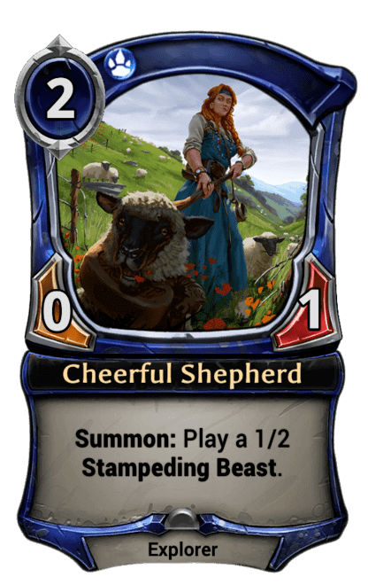 Card image for Cheerful Shepherd