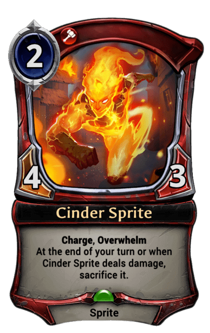 Card image for Cinder Sprite