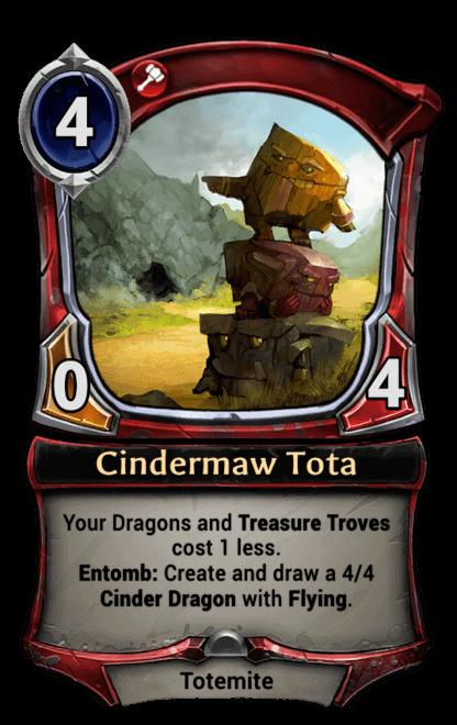 Card image for Cindermaw Tota