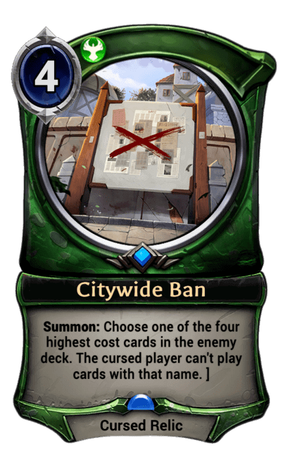 Card image for Citywide Ban