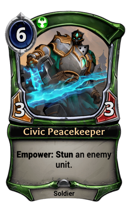 Card image for Civic Peacekeeper