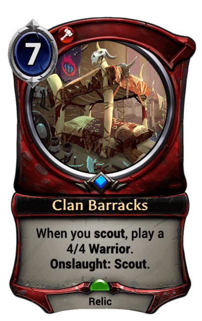 Card image for Clan Barracks
