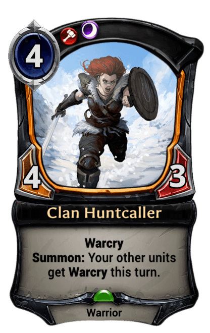Card image for Clan Huntcaller