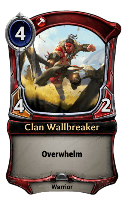 Card image for Clan Wallbreaker