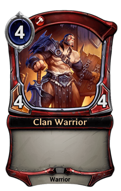 Card image for Clan Warrior