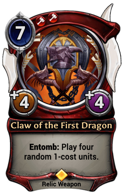 Card image for Claw of the First Dragon