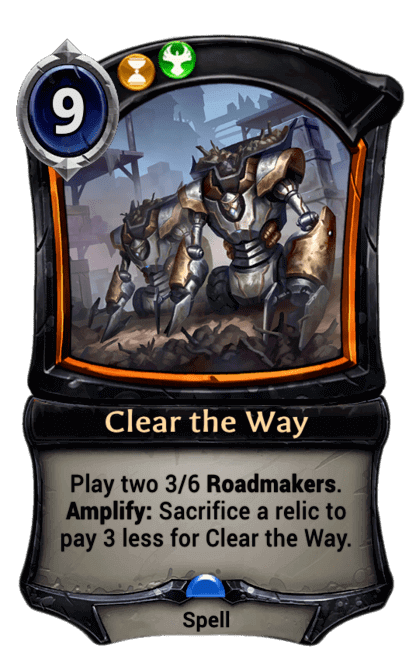 Card image for Clear the Way