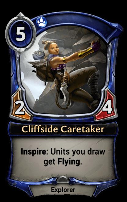 Card image for Cliffside Caretaker