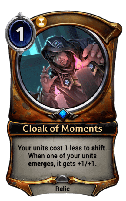 Card image for Cloak of Moments
