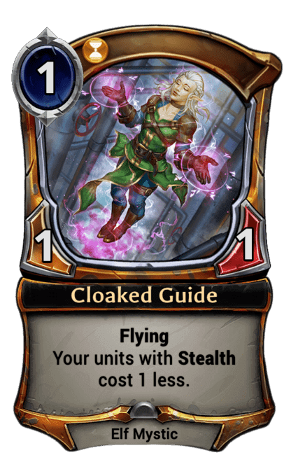 Card image for Cloaked Guide