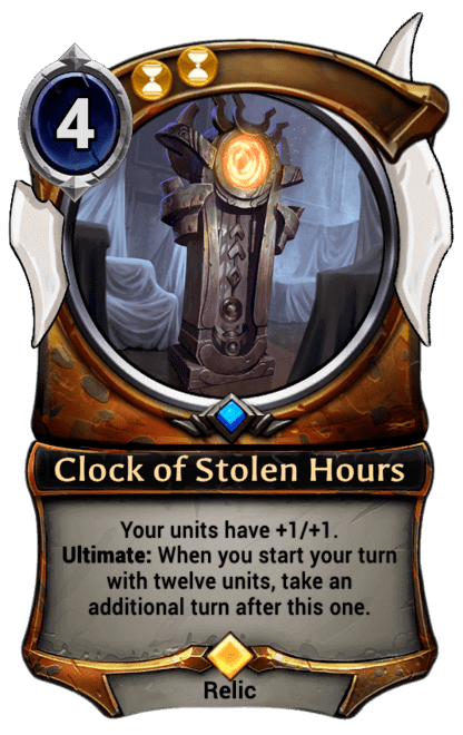 Card image for Clock of Stolen Hours