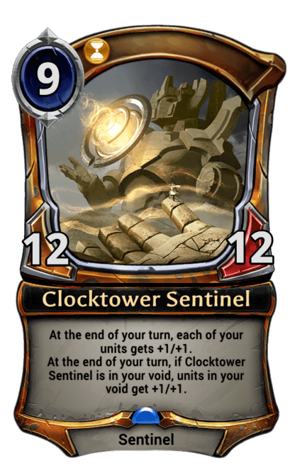 Card image for Clocktower Sentinel