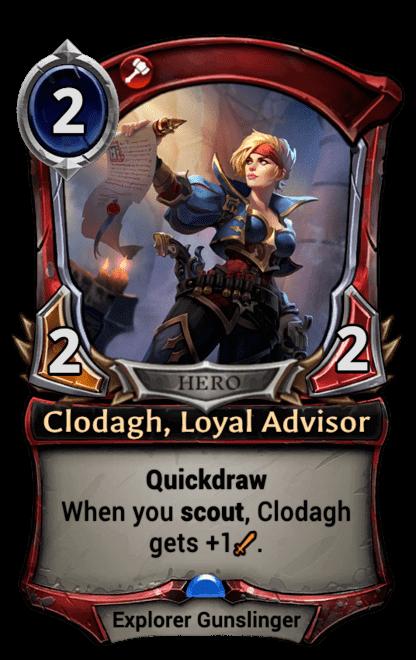 Card image for Clodagh, Loyal Advisor