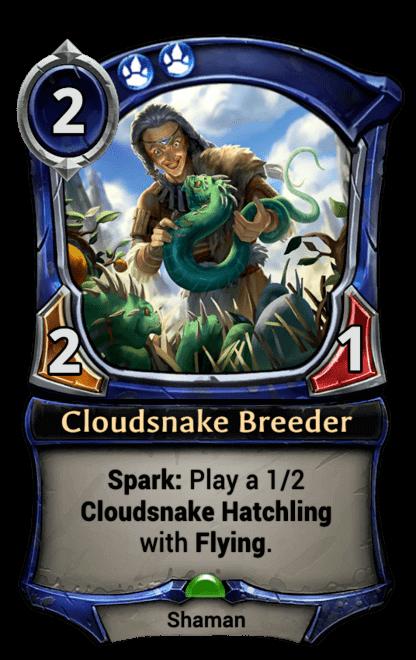 Card image for Cloudsnake Breeder