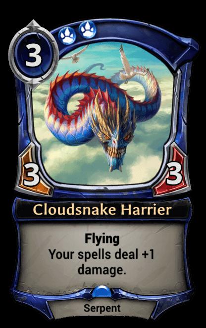 Card image for Cloudsnake Harrier