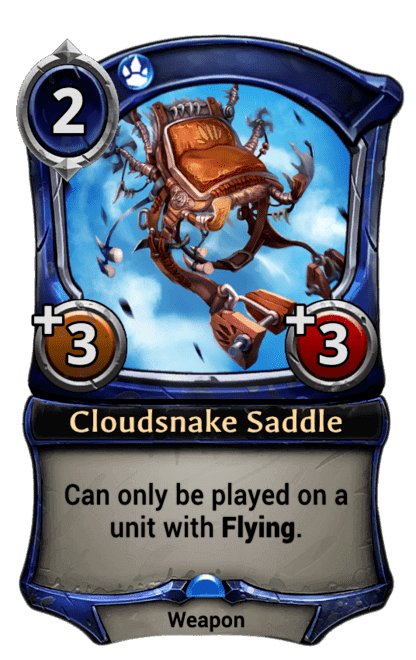 Card image for Cloudsnake Saddle