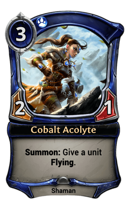 Card image for Cobalt Acolyte